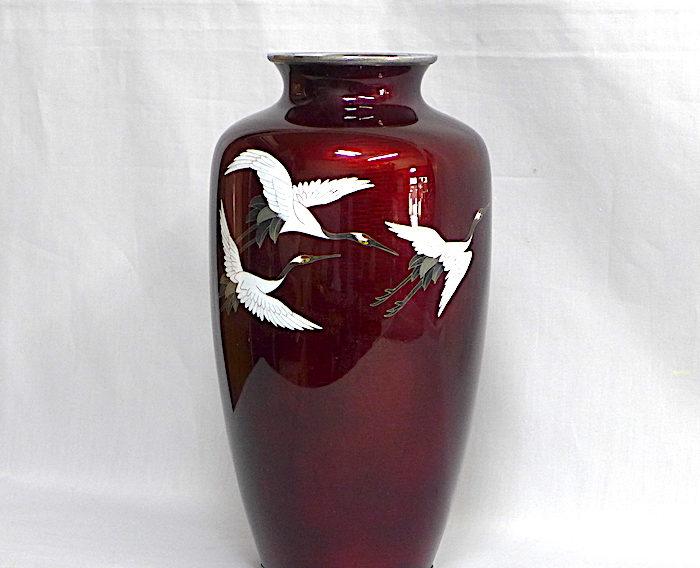 七宝焼き、花瓶